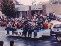 Foggy Mountain on FM-105 Parade Float
